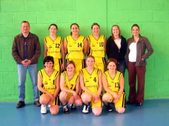 Equipe Séniors Féminines 2006