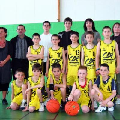 Remise maillots Poussins 2008
