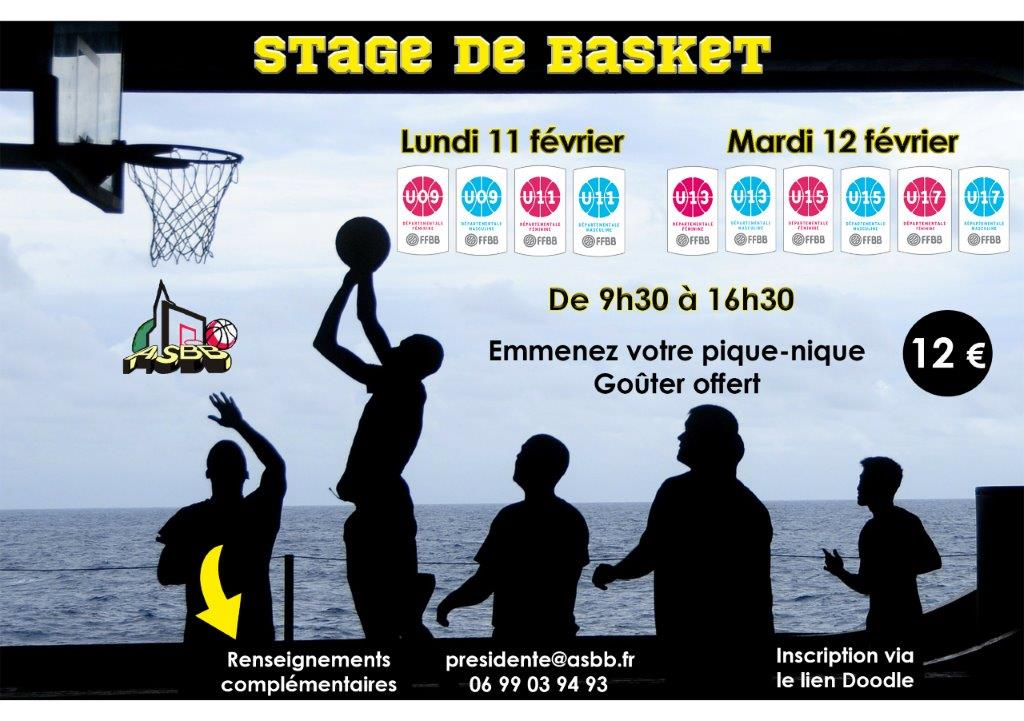 Stage basket fevrier 2019